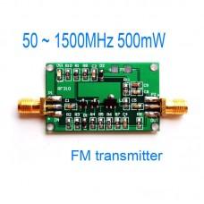 50-1500MHz 500mW FM Transmitter Broadband RF Power Amplifier 0.5W