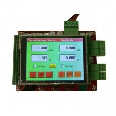 12Bit CNC Current Voltage Source Module 2-Channel TFT Colour Touch Screen