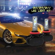 CREE CSP Chips 6500K H11 Car Headlight Kits 50W 8000LM 2WD/4WD Led Head Light Bulbs SUV Fog Lamp