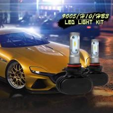 9005 Led Car Bulbs 6500K White CSP Chips 50W LED Headlight Kits Single Beam Fog Lamps