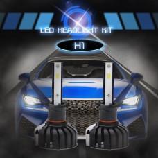 CSP Chips H1 LED Headlights Bulbs Car Fog Lamp 6000K White 80W IP65 Waterproof