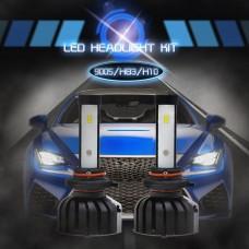 9005 HB3 H10 Headlights Bulbs CSP Chips LED Car Fog Lamp 6000K IP65 Waterproof 80W 8000LM