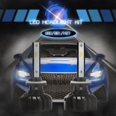 880 881 H27 CSP Chip LED Headlights Bulbs Car White Lamp 8000LM 6000K