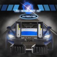 H4/HB2/9003 CSP Chip Headlights Bulbs Car Lamp White LED 50W 8000LM