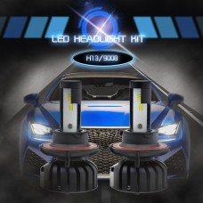 H13 9008 CSP Chips LED Headlights Bulbs Car Fog Lamps 6000K 8000LM