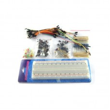 Arduino Workshop Components Package A Kit w/ Breadboard & Jumper Wires