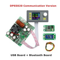 RD DPS5020-USB Buck Power Supply LCD Color Display Step-down Voltage Converter