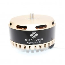 X120 Brushless Motor KV105 KV85 Multi-axis 24N28P for FPV Racing Drone Multicopter