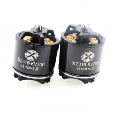 X2316 Brushless Motor KV700 KV920 Multi-axis 12N16P for FPV Racing Drone Multicopter 2PCS