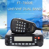 YAESU FT-7900R Car Mobile Radio Dual Band 50W Vehicle Base Station Radio Mobile Transceiver 144/430MHz