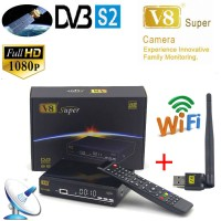 HD Freesat V8 Super DVB-S2 Digital Satellite Receiver Full 1080P With USB Wifi