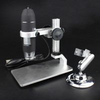 1000X 8 LED USB Digital Microscope Endoscope Zoom Camera Magnifier with Lift Stand Bracket