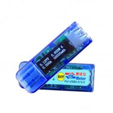 USB 3.0L White OLED Detector USB Voltmeter Ammeter Power Capacity Tester 3.7V-13V