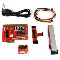 KQCPET6 V6 Upgraded A Type Laptop Desktop PC Universal Diagnostic Test Debug Support PCI/PCI-E/LPC/Mini PCIE