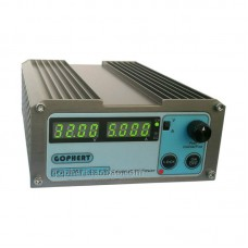 GOPHERT CPS-3205 II Digital DC Power Supply 32V 5A OVP/OCP/OTP EU Plug 0.01V/0.001A Precision Display