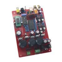 YJ TDA1541+SAA7220+CS8412+NE5534 Fiber Coaxial USB PCM2704 DAC Board