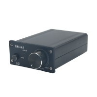 ZHILAI K3 TPA3118 DC12V Aluminum Digital HIFI T-Amp Mini Stereo Amplifier Pro Audio Equipment with Power Supply