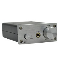 Desktop HIFI Amp ZHILAI K8 Digital Audio Fidelity Headphone Stereo Power Amp Amplifier White