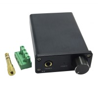 ZL K2 Mini Desktop Computer HIFI Amp Digital Headphone Amplifier 2x25W Sound Earphone Output