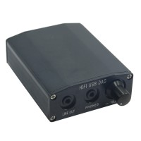ZL H8 Computer USB External Sound Card DAC Decoder Amp HIFI Desktop Audio Sound Card Black