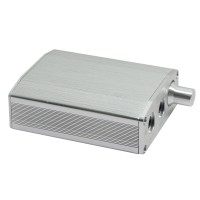 ZL H8 Computer USB External Sound Card DAC Decoder Amp HIFI Desktop Audio Sound Card Silver