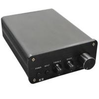 ZHI LAI K9 Digital Amplifer 2x160W High-Power Output high Bass Adjustment Input Amp for Audio