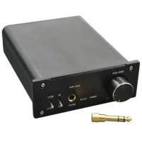 ZHI LAI T2 Desktop Computer HiFi Decoder USB Sound Card Amp Fiber Coaxial Input DAC Black