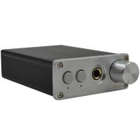 ZHI LAI T6 Aluminum Audio Decoder DAC Headphone Amplifier Fiber Coaxial Input 24BIT96KHZ White