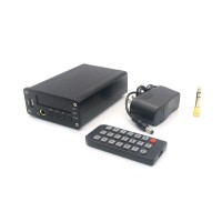 ZL T9 Music Decoding Player HIFI Headphone Amplifier Support USB MP3 Coaxial Optical Fiber Digital Signal Output-Black