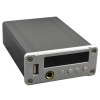 ZL T9 Music Decoding Player HIFI Headphone Amplifier Support USB MP3 Coaxial Optical Fiber Digital Signal Output-Silver