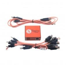 Sigma Box Unlocker Repair Flash+9 Cables for Alcate Motorola ZTE & Other MTK Y