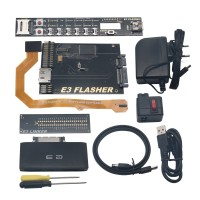 E3 Nor Flasher Paperback Deluxe Edition Downgrade Tool Kit for Flash Console