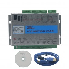 USB 2MHz Mach4 CNC 4 Axis Motion Control Card Breakout Board for Machine Centre