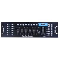 192 CH DMX512 Controller Laser DJ Light Disco Stage Lighting Console LED fr USA