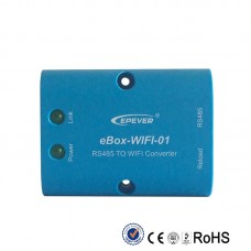eBox-BLE-01 RS485 to Wifi Converter For EPEVER MPPT Solar Charge Controller Bluetooth Communication