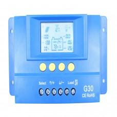 Y-Solar G30 30A PWM Solar Charge Controller Battery Regulator Backlight LCD USB