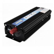 Car LED Power Inverter DC 12V To AC 220V 2000W Adapter Converter Charger USB Ports