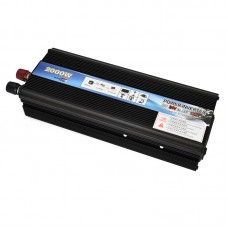 Car LED Power Inverter DC 24V To AC 220V 2000W Adapter Converter Charger USB Ports