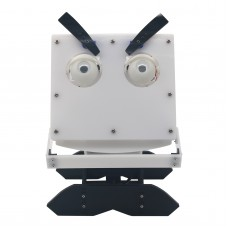Assembled Facial Expressions Robot  Cartoon Head Acrylic Material Education Toys Kids Gift