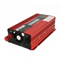 1000W Car LED Power Inverter Converter DC 12V To AC 220V LCD Diplay