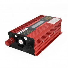 1000W Car LED Power Inverter Converter DC 12V To AC 220V LCD Diplay