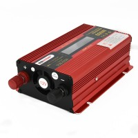 600W Car LED Power Inverter Converter DC 12V To AC 220V LCD Diplay