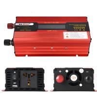 1000W Car LED Power Inverter Converter DC 12V To AC 110V LCD Diplay General Socket