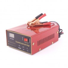 12V/24V 100AH Car Automatic Intelligent Battery Charger Motorcycle Lead Acid Rechargeable XW-20 6AH-105AH