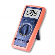 VICHY DM4070 Digital LCR Meter Multimeter Inductance Capacitance Ohm 9V