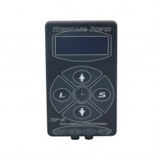 Hurricane HP-2 Black Tattoo Power Supply Digital Dual LCD Display Machine 100V-240V