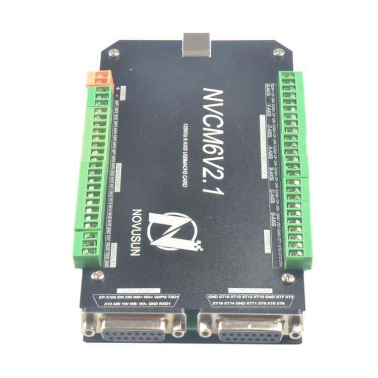 Nvcm6v21 Mach3 Usb Port 6 Axis Motion Controller Cnc Card Nvcm Board 125khz: Cnc Control Box Wiring Diagram At Eklablog.co