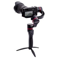 Fosicam FM1-45 45 Degrees 3-axis Motorized Gimbal Handheld Stabilizer for Mirrorless Micro-DSLR Cameras