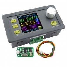 Power Supply Module Buck Voltage Converter Constant Voltage Current Step-Down Programmable LCD Voltmeter DPS3005-USB