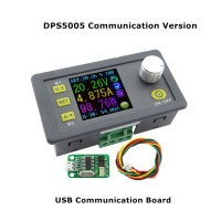 Power Supply Module Buck Voltage Converter Constant Voltage Current Step-Down Programmable LCD Voltmeter DPS5005-USB